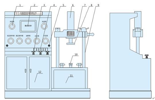 jlt vertical valve hydraulic test bed test bench zhejiang. Black Bedroom Furniture Sets. Home Design Ideas