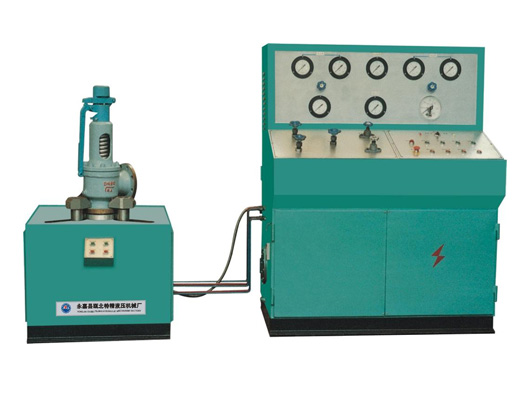 JLA safe valve test bench